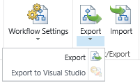 export in nintex